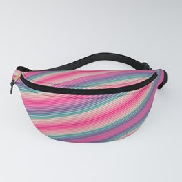 Lovely Pink Spectrum Fanny Pack