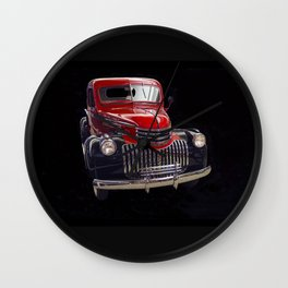 Classic Chevy Truck Wall Clock