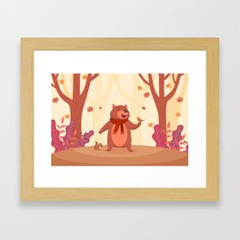 Bear in Heaven Framed Art Print