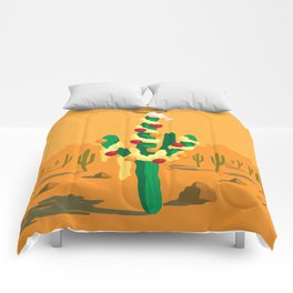 Merry Cactus Comforters