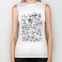 50s Biker Tanks featuring US AND THEM  by ALVAREZ