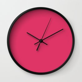 Simply Pink Punch Wall Clock