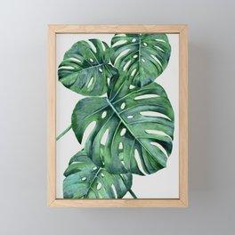 Monstera Framed Mini Art Print