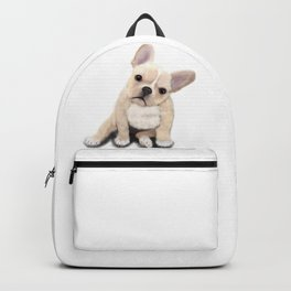 Cream Frenchie Backpack
