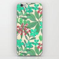 botanical iPhone & iPod Skins featuring Botanical by Louise Elizabeth