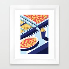 A night out in Seoul - Part 4 - Hangover Food Framed Art Print