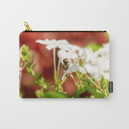Brown Bee Fly Carry-All Pouch