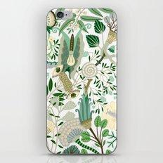 Green Flower Fantasy  iPhone & iPod Skin