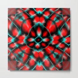 Garish  Pattern 6 Metal Print