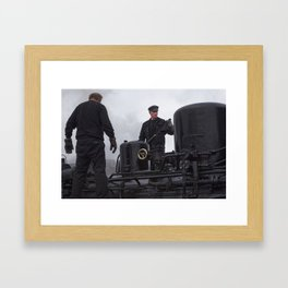 Steam locomotive 99 5902 from 1897 Framed Art Print