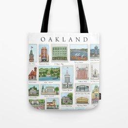 Oakland Landmarks Tote Bag
