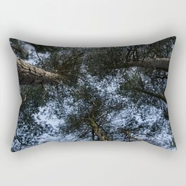 Pine Tree Treetops Rectangular Pillow