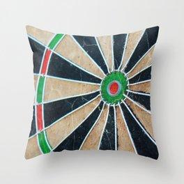 Dartboard Throw Pillow