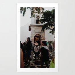 Bells and People Art Print