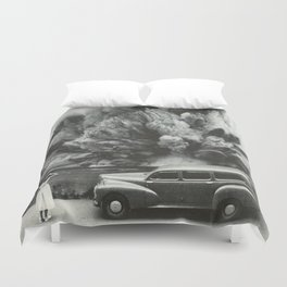 Unexpected Scenery Duvet Cover