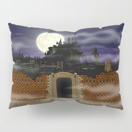 Vampire Castle Pillow Sham