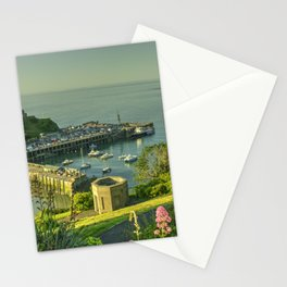 Ilfracombe Harbour Summer Stationery Cards