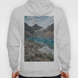 Blue Lake - Landscape and Nature Photography Hoody