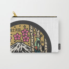 Japan manhole fuji sakura Carry-All Pouch
