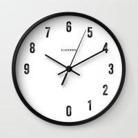 clockwork Wall Clocks featuring Clockwork by Warsheh