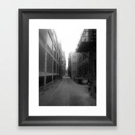Alley #1 Framed Art Print