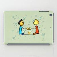 gemini iPad Cases featuring Gemini by Giuseppe Lentini