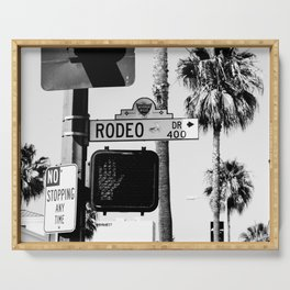 Rodeo Drive Serving Tray