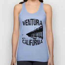 Ventura, California Pier Graphic Unisex Tank Top