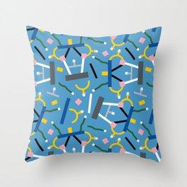 Ashoka Lamp Party Confetti Throw Pillow