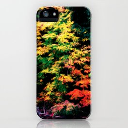 Fishing for Fall iPhone Case