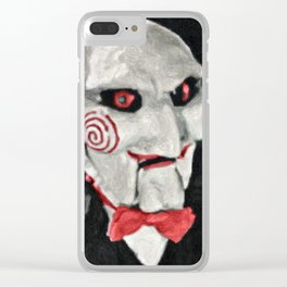 Billy the Puppet Clear iPhone Case