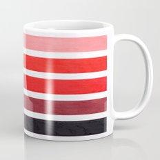 Colorful Red Geometric Pattern Mug