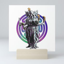 Hecate - Stained Glass Mini Art Print