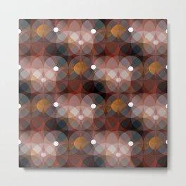Spheres (mahogany) Metal Print