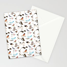 Various Birds Stationery Cards