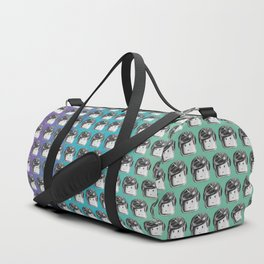 Minifigure Pattern - Cool Duffle Bag
