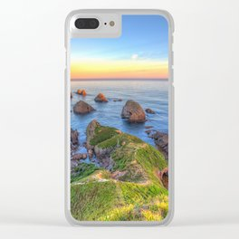 Nugget Point, Otago, New Zealand Clear iPhone Case