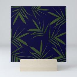 Exotic leaves pattern 42 Mini Art Print