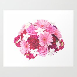 Bouquet I Art Print