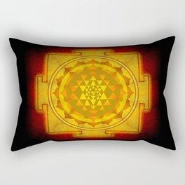 Sri Yantra I Rectangular Pillow