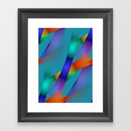 3D abstraction -18- Framed Art Print