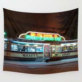 Mickey's Diner Wall Tapestry