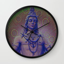 Shiva the Destroyer Wall Clock