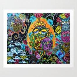 Wisdom Tree Art Print