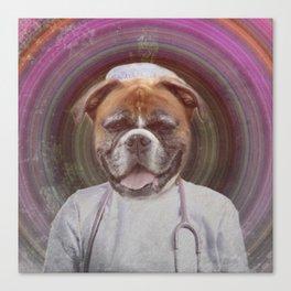 Dr. Doggo Canvas Print