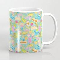 baking Mugs featuring Baking pattern by Calidurge