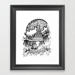 Moosely Framed Art Print