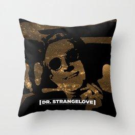 DR STRANGELOVE & COSMOS Throw Pillow