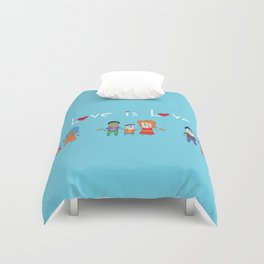 Love is Love Blue - We Are All Equal Duvet Cover