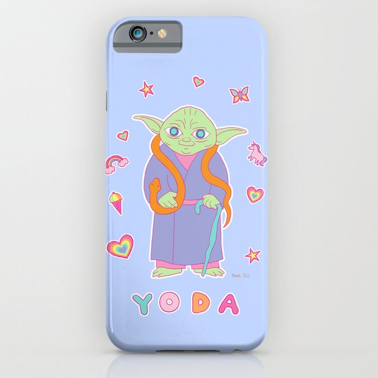 Yoda Sticker Magic iPhone & iPod Case